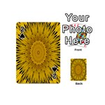 Pattern Petals Pipes Plants Playing Cards 54 (Mini)