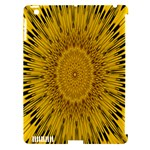 Pattern Petals Pipes Plants Apple iPad 3/4 Hardshell Case (Compatible with Smart Cover)