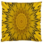 Pattern Petals Pipes Plants Large Cushion Case (One Side)