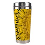 Pattern Petals Pipes Plants Stainless Steel Travel Tumblers