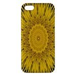 Pattern Petals Pipes Plants iPhone 5S/ SE Premium Hardshell Case