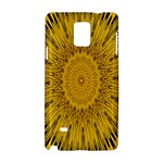 Pattern Petals Pipes Plants Samsung Galaxy Note 4 Hardshell Case