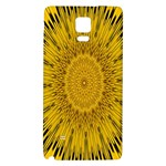 Pattern Petals Pipes Plants Galaxy Note 4 Back Case