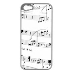 Abuse Background Monochrome My Bits Apple iPhone 5 Case (Silver)