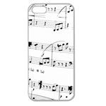 Abuse Background Monochrome My Bits Apple Seamless iPhone 5 Case (Clear)