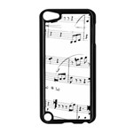 Abuse Background Monochrome My Bits Apple iPod Touch 5 Case (Black)