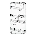 Abuse Background Monochrome My Bits Apple iPhone 4/4S Hardshell Case with Stand