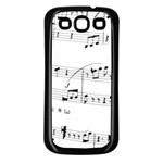 Abuse Background Monochrome My Bits Samsung Galaxy S3 Back Case (Black)