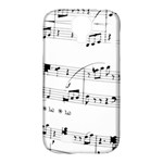 Abuse Background Monochrome My Bits Samsung Galaxy S4 Classic Hardshell Case (PC+Silicone)