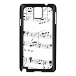 Abuse Background Monochrome My Bits Samsung Galaxy Note 3 N9005 Case (Black)
