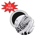 Animal Bird Forest Nature Owl 1.75  Magnets (10 pack)