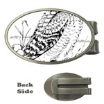 Animal Bird Forest Nature Owl Money Clips (Oval)