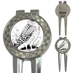 Animal Bird Forest Nature Owl 3-in-1 Golf Divots