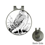 Animal Bird Forest Nature Owl Hat Clips with Golf Markers