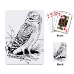 Animal Bird Forest Nature Owl Playing Card