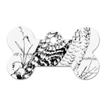 Animal Bird Forest Nature Owl Dog Tag Bone (Two Sides)