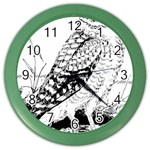Animal Bird Forest Nature Owl Color Wall Clocks