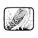 Animal Bird Forest Nature Owl Netbook Case (Small)