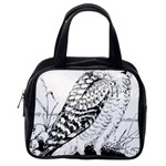 Animal Bird Forest Nature Owl Classic Handbags (One Side)