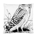 Animal Bird Forest Nature Owl Standard Cushion Case (Two Sides)
