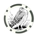 Animal Bird Forest Nature Owl Poker Chip Card Guard (10 pack)
