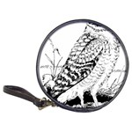 Animal Bird Forest Nature Owl Classic 20-CD Wallets