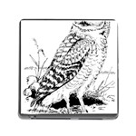 Animal Bird Forest Nature Owl Memory Card Reader (Square)
