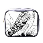 Animal Bird Forest Nature Owl Mini Toiletries Bags