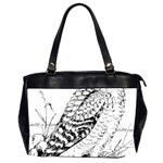 Animal Bird Forest Nature Owl Office Handbags (2 Sides)