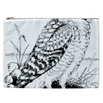 Animal Bird Forest Nature Owl Cosmetic Bag (XXL)