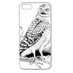 Animal Bird Forest Nature Owl Apple Seamless iPhone 5 Case (Clear)