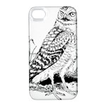 Animal Bird Forest Nature Owl Apple iPhone 4/4S Hardshell Case with Stand