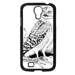 Animal Bird Forest Nature Owl Samsung Galaxy S4 I9500/ I9505 Case (Black)