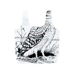 Animal Bird Forest Nature Owl Full Print Recycle Bags (S)