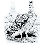 Animal Bird Forest Nature Owl Full Print Recycle Bags (L)