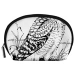 Animal Bird Forest Nature Owl Accessory Pouches (Large)