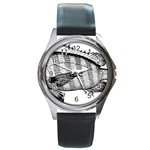 Animal Fish Ocean Sea Round Metal Watch