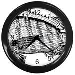 Animal Fish Ocean Sea Wall Clocks (Black)
