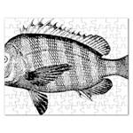 Animal Fish Ocean Sea Rectangular Jigsaw Puzzl