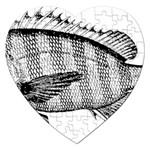 Animal Fish Ocean Sea Jigsaw Puzzle (Heart)