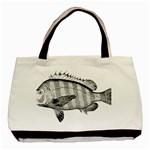 Animal Fish Ocean Sea Basic Tote Bag (Two Sides)