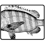 Animal Fish Ocean Sea Fleece Blanket (Medium)