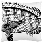 Animal Fish Ocean Sea Large Cushion Case (One Side)
