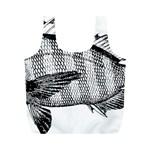 Animal Fish Ocean Sea Full Print Recycle Bags (M)