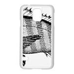 Animal Fish Ocean Sea Samsung Galaxy S5 Case (White)