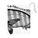 Animal Fish Ocean Sea Drawstring Pouches (Extra Large)