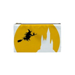 Castle Cat Evil Female Fictional Cosmetic Bag (small)