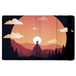 Design Art Hill Hut Landscape Apple iPad 3/4 Flip Case
