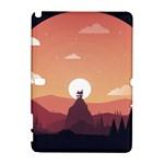 Design Art Hill Hut Landscape Galaxy Note 1