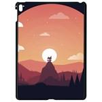 Design Art Hill Hut Landscape Apple iPad Pro 9.7   Black Seamless Case